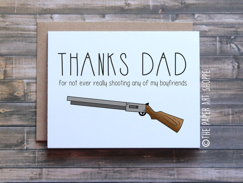 Funny Birthday Card Happy Fathers Day
