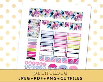 Minimal MONTHLY VIEW Planner Stickers for the Neutral Erin Condren Planner/Monthly Kit/September/Silhouette Cut File/Functional