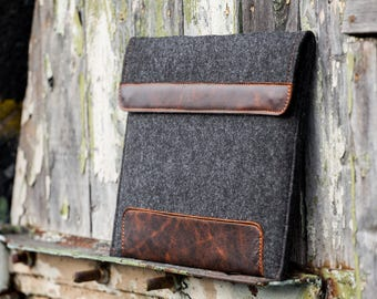 Dark Felt Dell XPS 13 case. Dell XPS 15 case. Dell xps case bag sleeve cover for 9500 7590 9300 9365 9570 9700 9370
