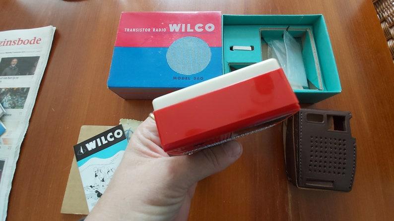 model 360 6 transistor radio Wilco 6 transistor Wilco transistor Wilco model 360 Wilco 6 model 360 Wilco Wilco radio model 360 in box