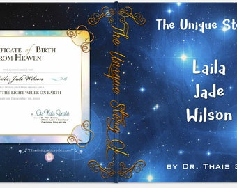 Unique children's personalized movie book & DVD saying child and parents name - Matte Book