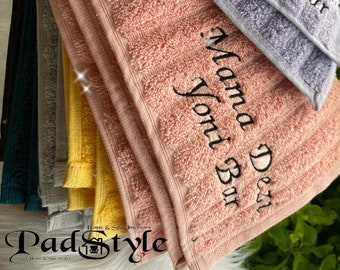 Logo Embroidery for V Steam Towels, Spa Towel Embroidery   Digitizing Images