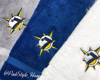 The Nation of Gods and Earth| 5%ers | NGE embroidered Hand towels | Kitchen towels | Pillows|