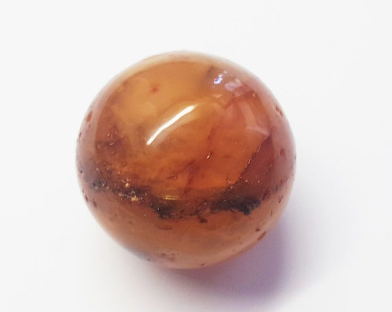 15.7g Unique Antique Natural  Amber ball