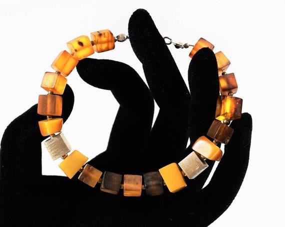 13g. Natural Baltic Amber Bracelet, Honey Amber, Butterscotch Amber Bracelet, Genuine Amber
