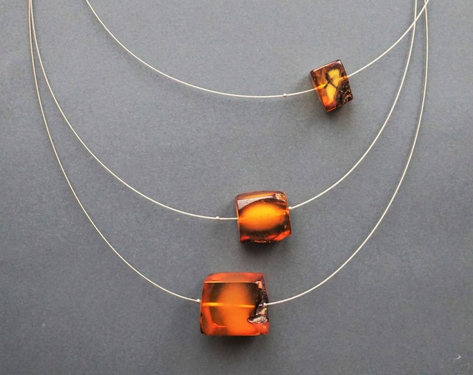 31g Necklace Natural Baltic Amber