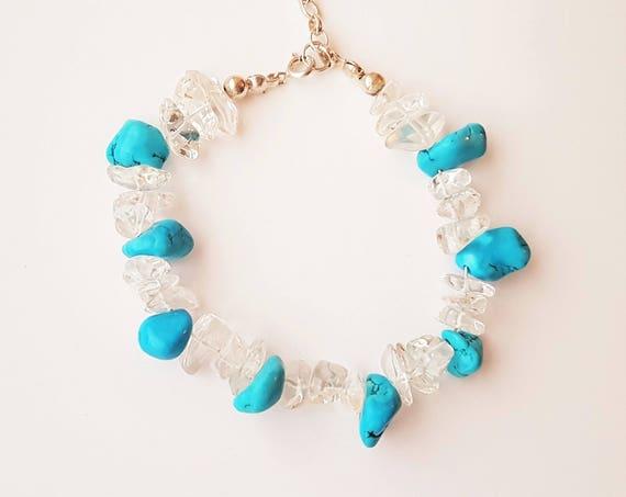 Handmade Sterling Silver Turquoise Bracelet