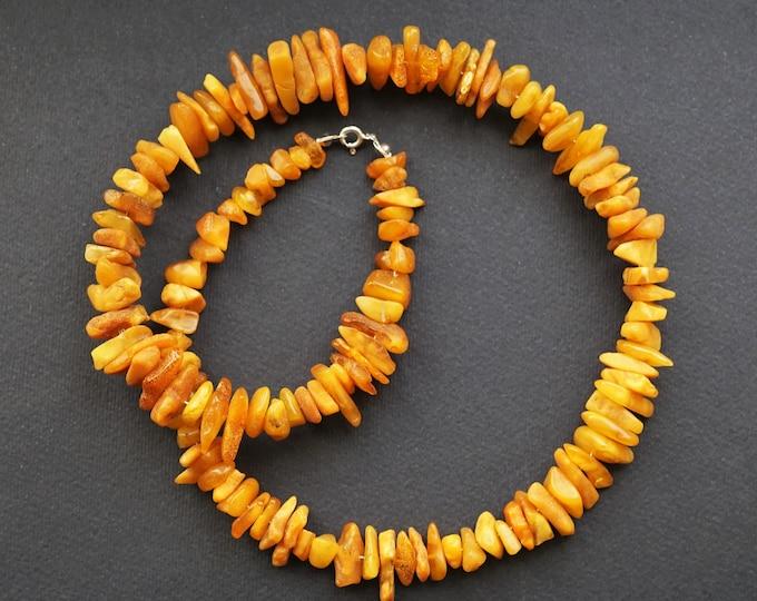 32g Elegant Butterscotch, Baltic Amber Necklace, Natural Baltic Amber