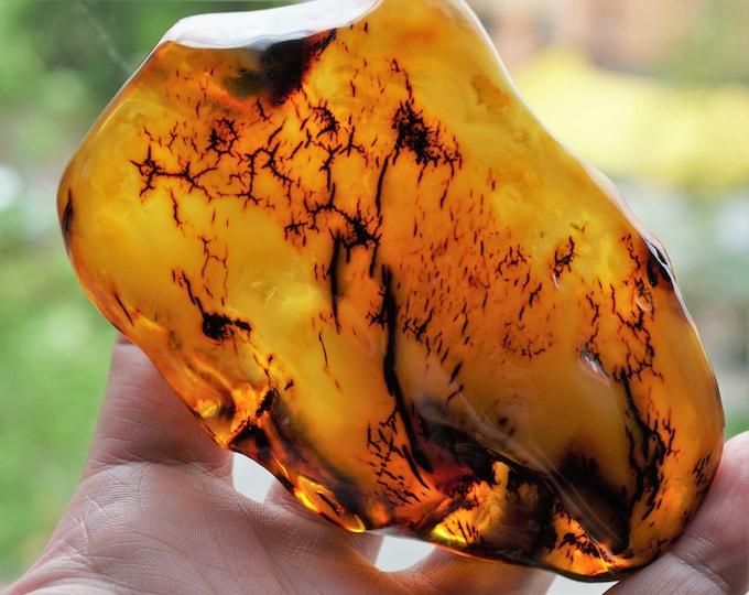84g. Huge Baltic Amber, Amber Stone,Huge Amber Stone, Butterscotch, Antique Amber