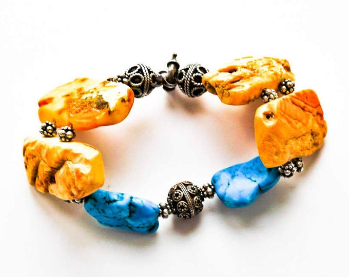 Genuine original natural baltic lanscape and yellow honey green and cherry rare Baltic amber round sphere bracelet 41g \u771f\u6b63\u7684\u6ce2\u7f57\u7684\u6d77\u7425\u73c0