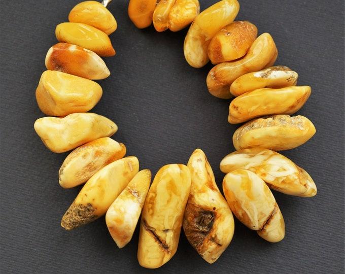 64,4g. Handmade baltic amber bracelet