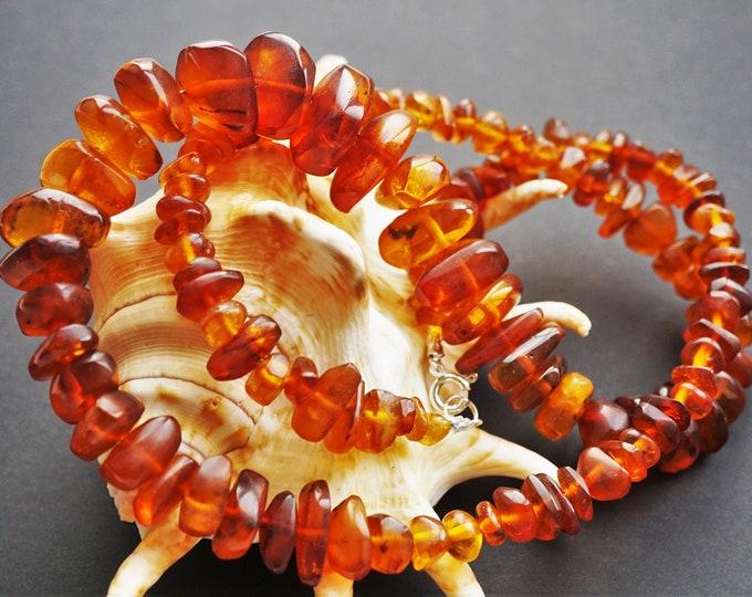 49,9g Elegant Baltic Amber Necklace, Natural Baltic Amber