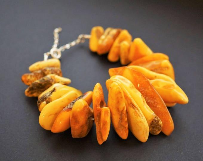 66g. Handmade baltic amber bracelet