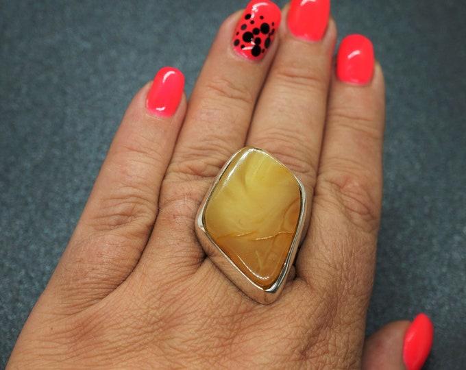 17,6g. Baltic Amber Ring