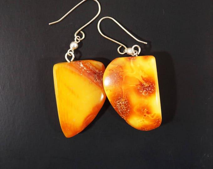 19g. Baltic amber earrings handmade