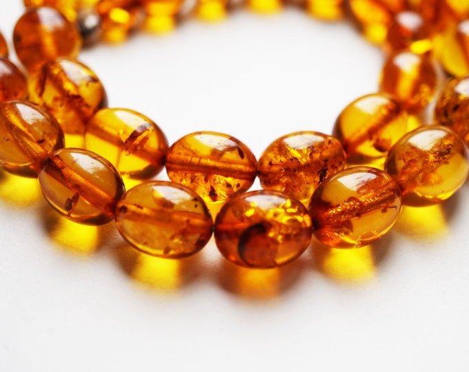 25g. Natural Baltic Amber Necklace, NOT Pressed Amber