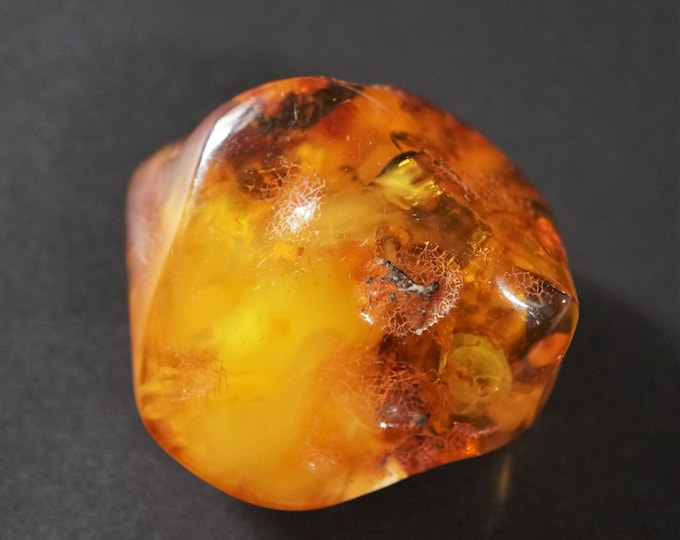 41g Antique Baltic Amber Stone, Genuine Baltic Amber