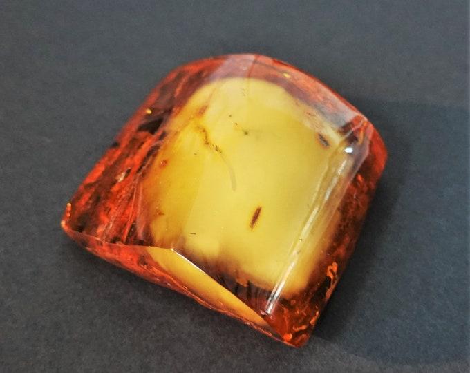 79,5g. Huge Baltic Amber Stone, Yellow/ Cognac Amber, Genuine Amber