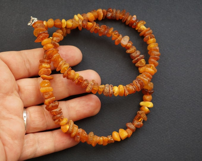 22g Elegant Butterscotch, Baltic Amber Necklace, Natural Baltic Amber