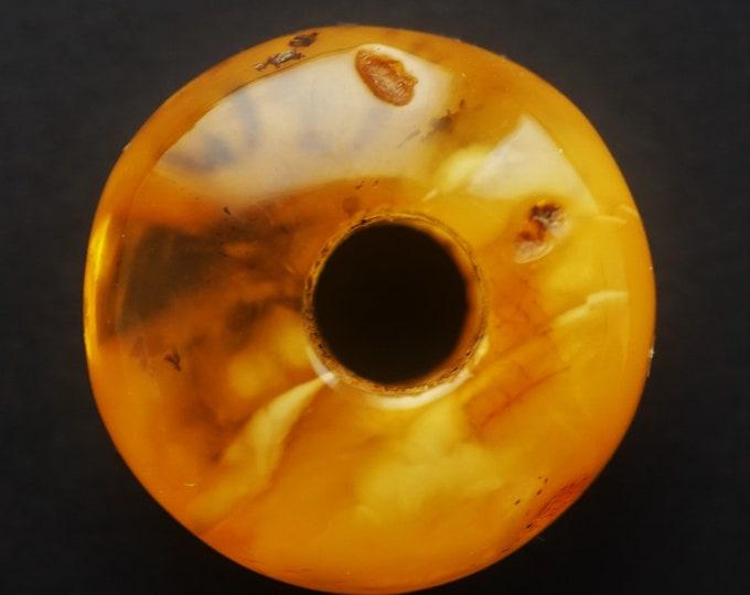 5,1g Donut Amber Pendant