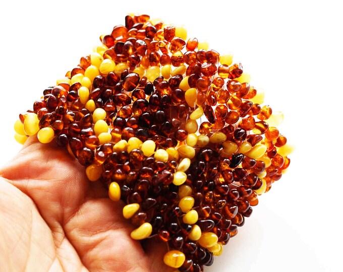 66g Artistic Natural Baltic amber bracelet