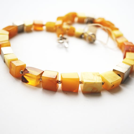 25,5gNOT MODIFIED! Baltic Amber Necklace