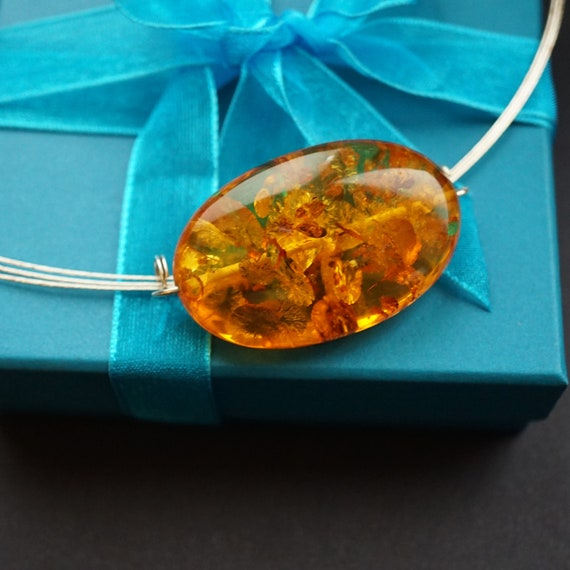 9,7g Genuine Baltic Amber Necklace, Natural Baltic Amber