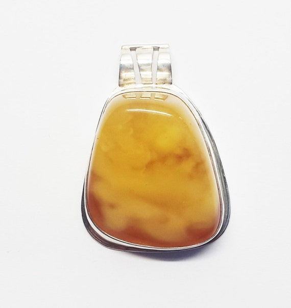 Natural Baltic Amber Pendant, 15g