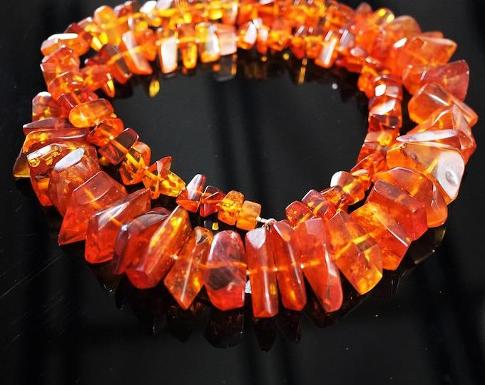 127g Huge Cognac Baltic Amber Necklace