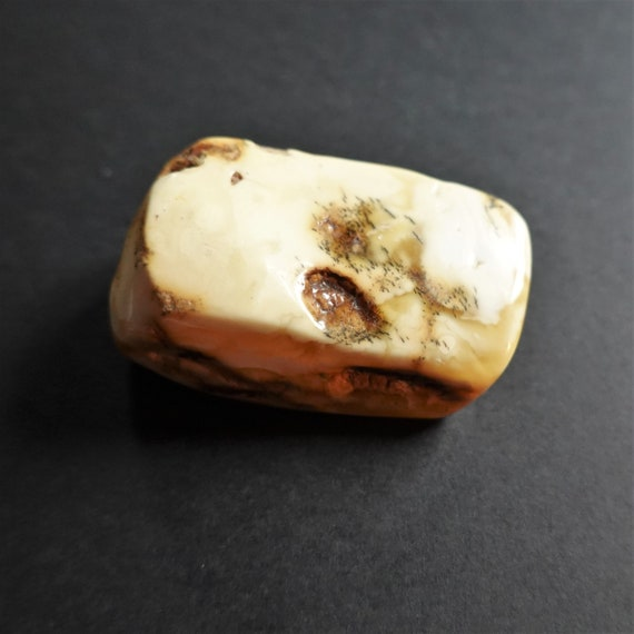 17,8g, Genuine White/ Yellow Baltic Amber Stone