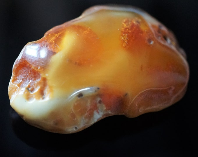 13,8g. Butterscotch Baltic Amber Stone, Genuine Baltic Amber, Collectors Amber