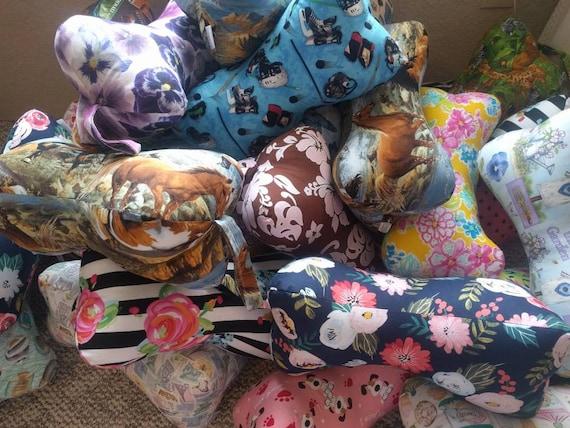 Dog Bone Pillow Neck Pillow Neck Support Pillow Etsy