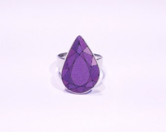 Gemstone Ring Purple