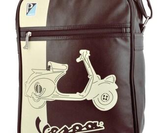 """Vespa shoulder bag/Vespa shouderbag """"Duo colore scoot Piaggio"""""""