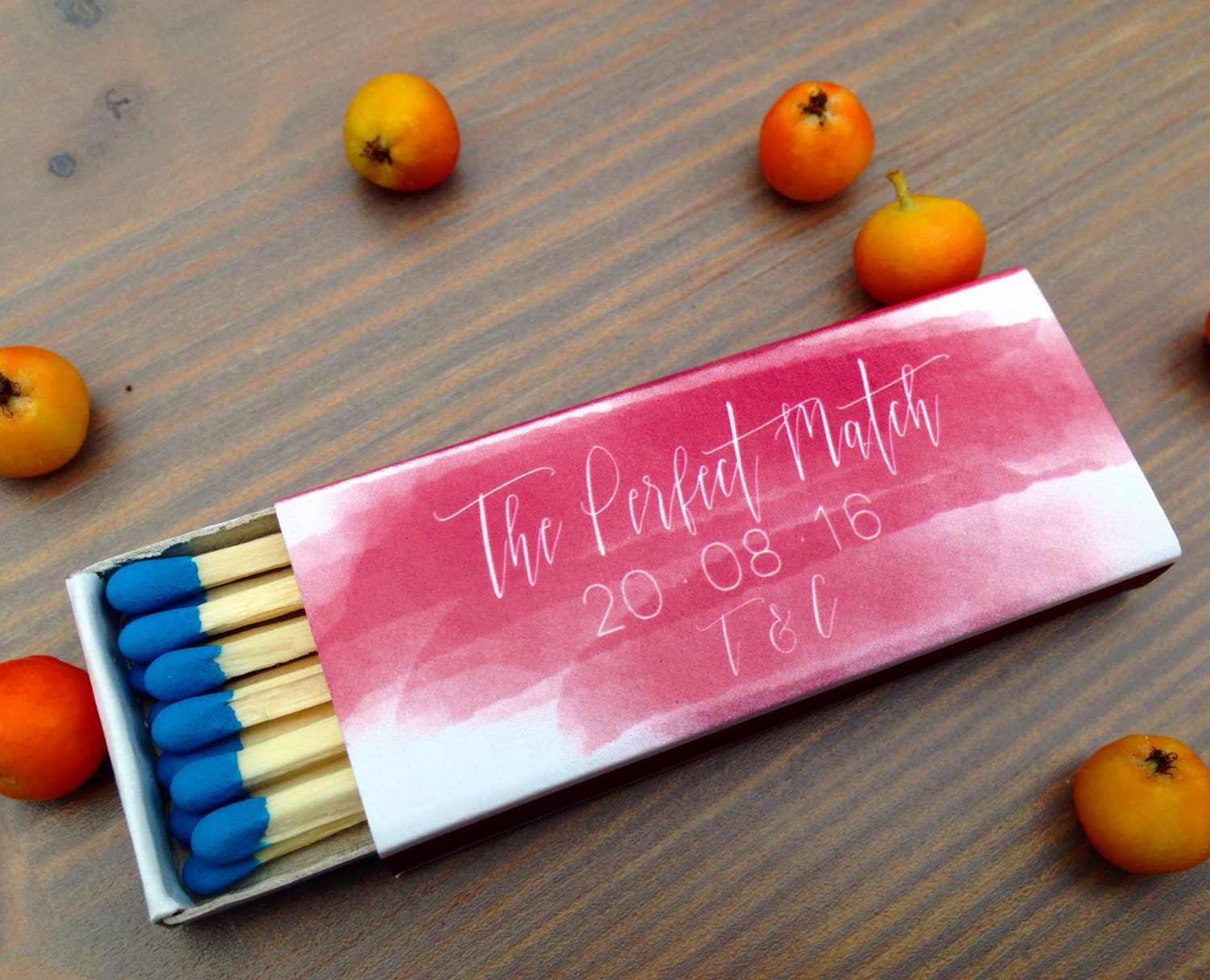 50 Personalized Matchboxes Custom Matchbox Photo Matchbox