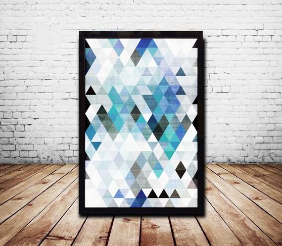 A1 Plakat Geometryczny ściana Grafika Plakaty Cyfrowy Druk Streszczenie Sztuka Tapeta Abstrakcyjny
