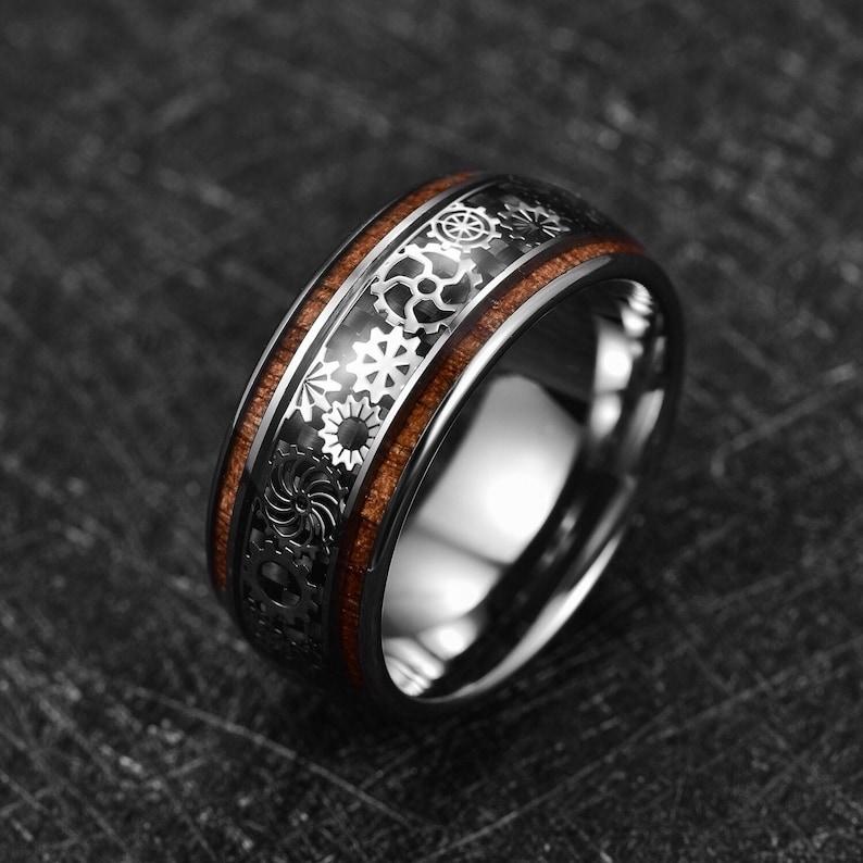 Unique Wedding Bands for Men