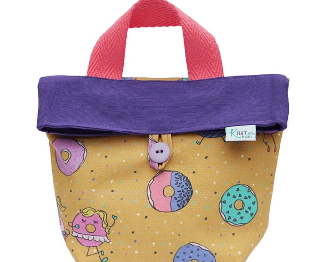 Snack bag with handle for Kids