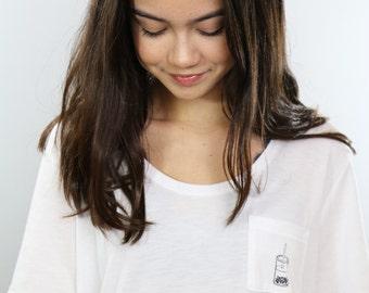 Boba T Shirt - Boba Pocket Tee *free shipping in United States