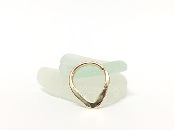Breast Jewelry 16g Hoop Triangle Piercing Hoop 16g Nipple Ring 16g Single Nipple Piercing Nipple Jewelry Piercing Nipple Piercing Jewelry