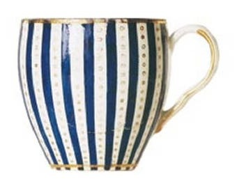 Gift Tag - Worcester Cup, Circa 1780