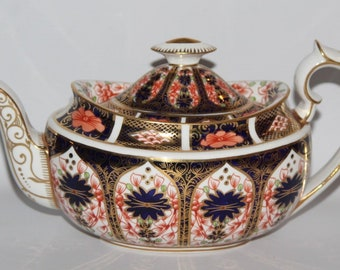 Royal Crown Derby - Imari 1128 - Teapot - c1960 - vgc