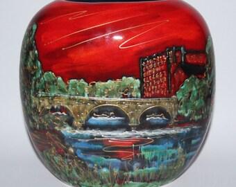 Anita Harris Art Pottery - The Belper Heritage Collection - Medium Purse Vase