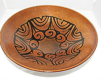 "Poole - Aegean - Shape 58, Massive 13 1/2"" bowl - stunning centrepiece - vgc"