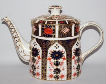 Royal Crown Derby - Imari 1128 - Large Teapot - XLVII/1984 - 1st/vgc