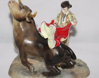 Royal Crown Derby - Matador Figurine by Edward Drew - c1940/Rare