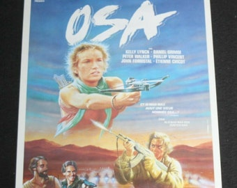 Vintage Belgian Film / Movie Poster - Osa - Kelly Lynch - 1986