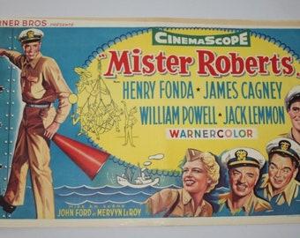 Vintage Belgian Film / Movie Poster - Mister Roberts - Henry Fonda - 1955