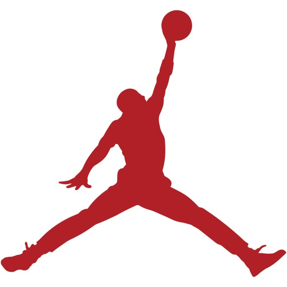 Air Jordan Jumpman Logo Sticker Decal MJ 23 Michael Jordan Car | Etsy