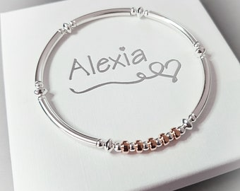 50th Birthday Bracelet Gift For Her Ideas Daughter Sterling Silver